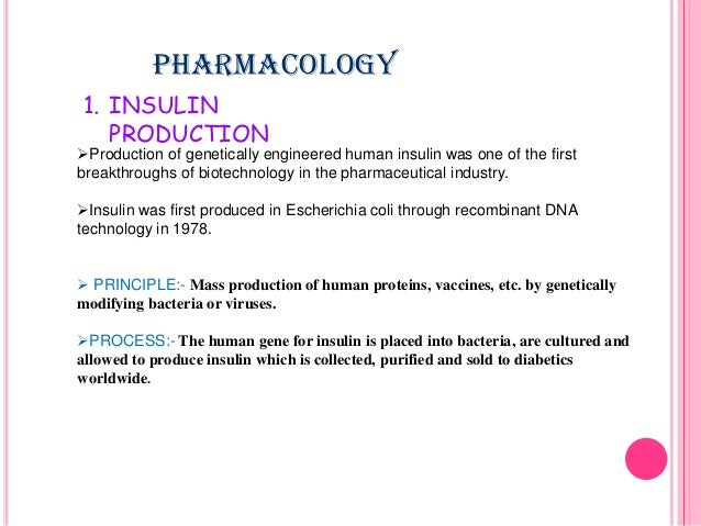 application of recombinant dna technology in industry pdf