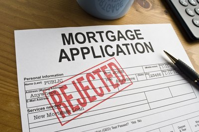 what are the common reasons a mortgage application is denied
