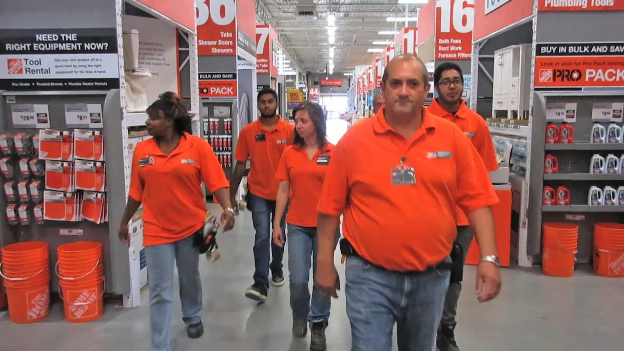home depot careers online application