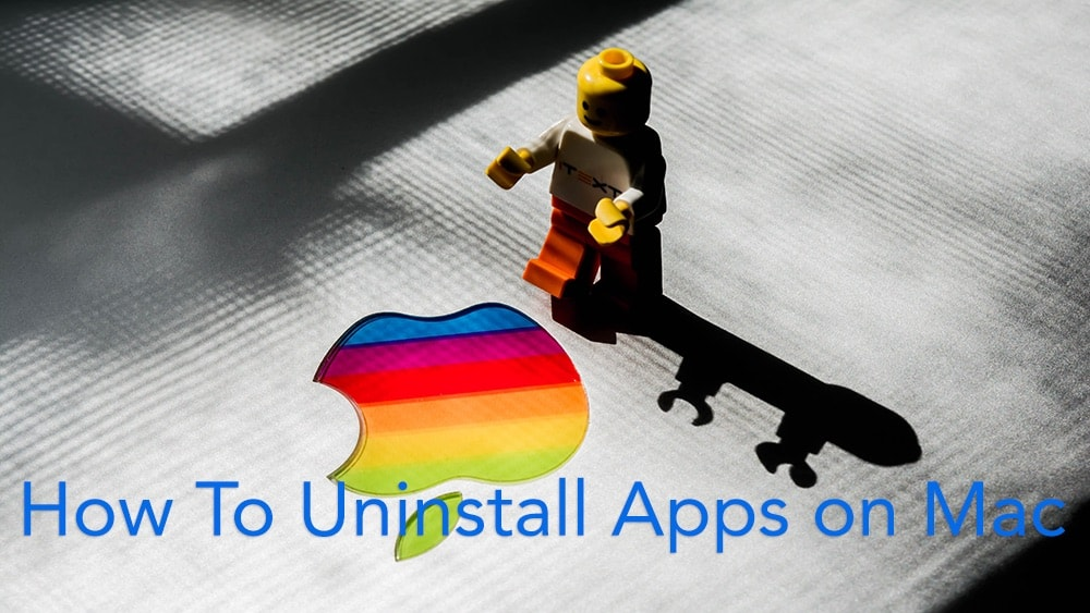 how to properly uninstall applications on mac