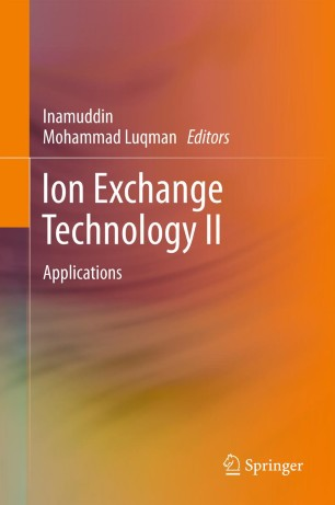 applications of ion exchange chromatography pdf