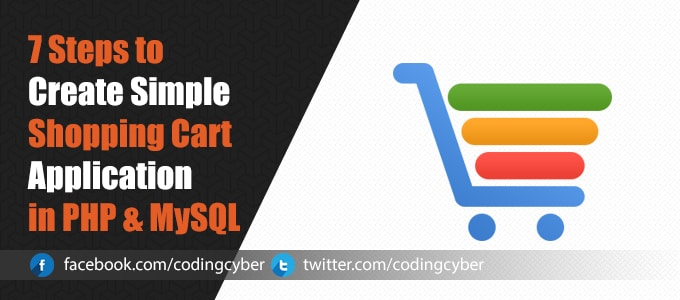 shopping cart application in php