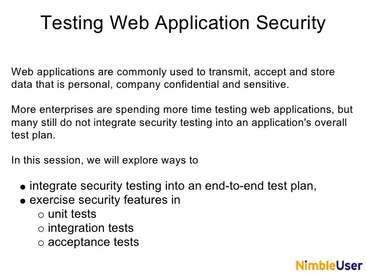 test plan sample for web application