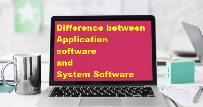 difference between software and application