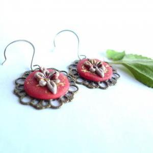 polymer clay filigree applique technique