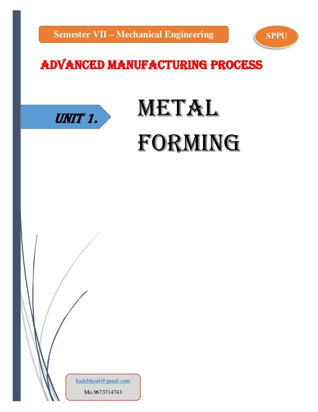 sheet metal forming processes and applications pdf