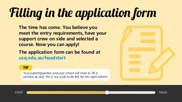 what does degree courses mean on a job application